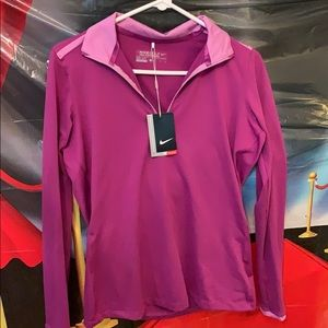 Nike Dri Fit golf women size L